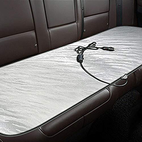 Cojines de asiento calefactables, 12 V, cojín calefactable, cojín para coche, cojín de asiento único para calefacción de oficina, pequeño bloque cuadrado