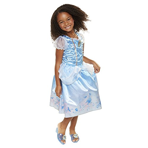 Disney Princess Disney Press 04316 Cinderella Explore Your World Dress, Blue