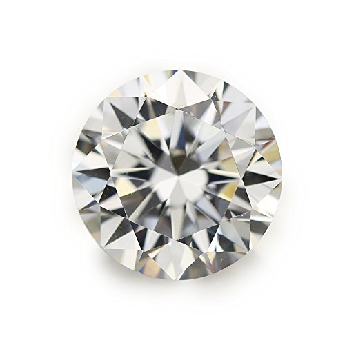 100 pieces 5.0mm Round shape White Cubic Zirconia Loose stone