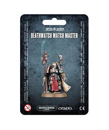 Games Workshop Figura de acción Warhammer 40.000 Deathwatch Watch Master 99070109003