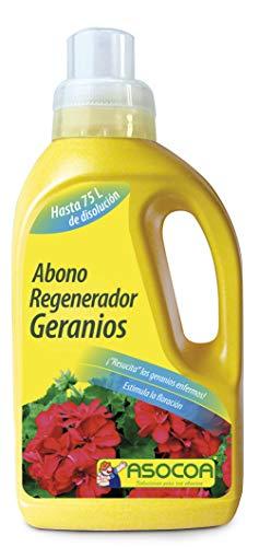 ASOCOA - Abono Regenerador Geranios. Recupera la floración después Ataque Mariposa.