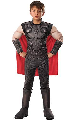 Déguisement de Thor tiré du Film « Avengers: Infinity Wars » – Costume Officiel de Luxe pour Enfant par Rubie