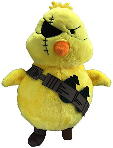 Lethal Chicken 11-inch Super Soft Slightly Angry Stuffed Animal Plush