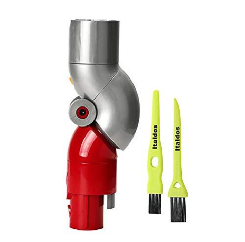Italdos Snodo Adattatore compatibile per Dyson V11 V10 V8 V7 Sgancio Rapido Facile Pulizia per Sotto Mobile Divano Tavolo # 970790-01