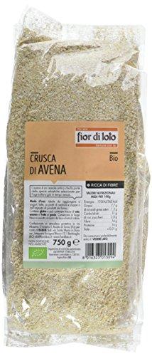 Fior di Loto Crusca di Avena - 750 gr