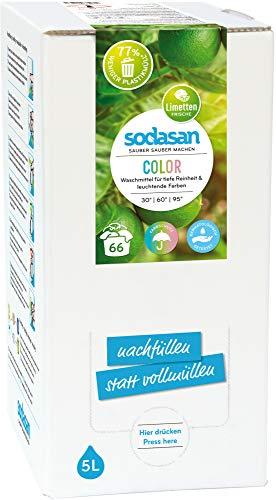 Sodasan Bio Color-Limette Flüssigwaschmittel 5L BiB (1 x 5 l)