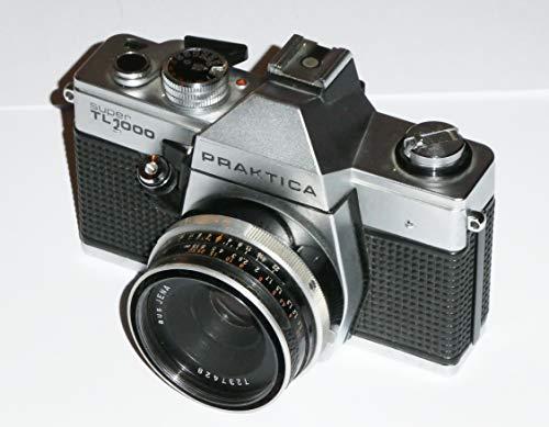 Fotoapparat - PRAKTICA super TL 1000 - VEB PENTACON Dresden - SLR Camera + Objektiv TESSAR 2.8/50 Carl ZEISS JENA DDR - getestet by LLL