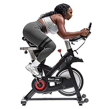 KOUZ LIVE Exercise Bikes Magnetic Resistance,...