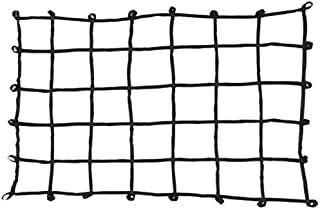PROGRIP 901800 Cargo Net for Transport Storage and Vehicle: Large Size Truck Bed Web Netting with Multi-Attachment Loops, 80