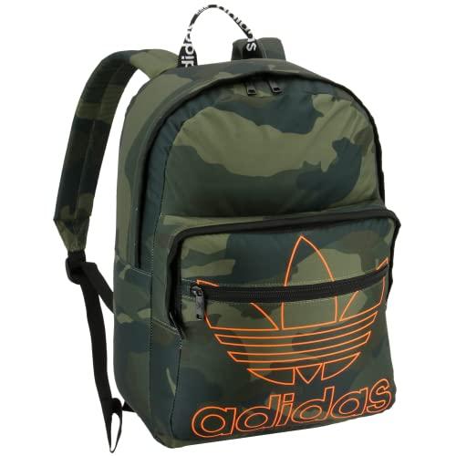 adidas Originals Unisex 977701 Trefoil Pocket Mochila, Unisex, 977701, Adi Camo Olive Cargo Green, Talla única