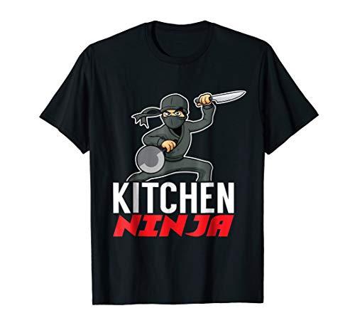 Kitchen Ninja Home Chef Or Cook T-Shirt