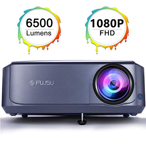 1080P Projector Video Projector for Home & Outdoor Movie Projector Compatible with Fire TV Stick, Smartphone, HDMI,VGA,AV and USB