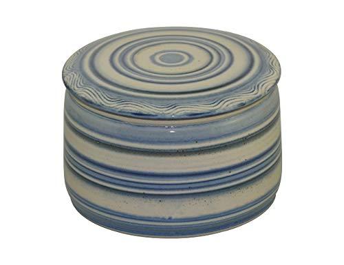 Unbekannt original französische wassergekühlte Keramik butterdose, Immer frische und streichfähige Butter, für ca 250 gr. Butter, Bristol Z-G