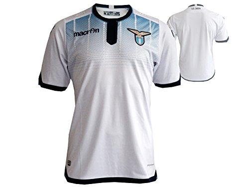 Macron Lazio Rome 3rd Jersey speler voetbalshirt wit