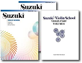 Suzuki Violin School, Violin Part - 3 Book Set - Includes Volume 4, Volume 5 and Volume 6