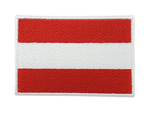 Österreich Flagge Patch mit Klett Rückseite | Austrian Flag Klettpatches, Fahne Wappen Patches, Tactical Airsoft Klettpatch Finally Home