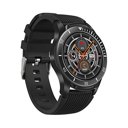 JHHXW Reloj elegante, 1,28 pulgadas de pantalla, rastreador de ejercicios, pulsera de los deportes del podómetro, Selección Cara del reloj, IP67 a prueba de agua, mensaje Push, inteligente recordatori
