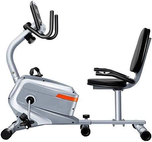 XUSHEN-HU Fitness ejercicio bicicleta - vuelta de la aptitud Bicicleta Bicicleta Home Trainer e ideal Cardio Trainer - Sporting Gimnasio bici Ciclo Trainer - Función de programas de entrenamiento Inte