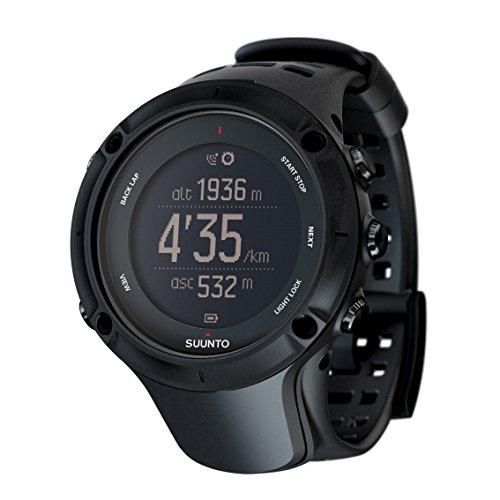 スント(SUUNTO) 腕時計 アンビット3 ピーク ブラック 10気圧防水 GPS 気圧/高度/方位/速度/距離計測 [日本...