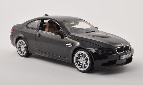 BMW M3 (E92M), schwarz , 2008, Modellauto, Fertigmodell, Motormax 1:18
