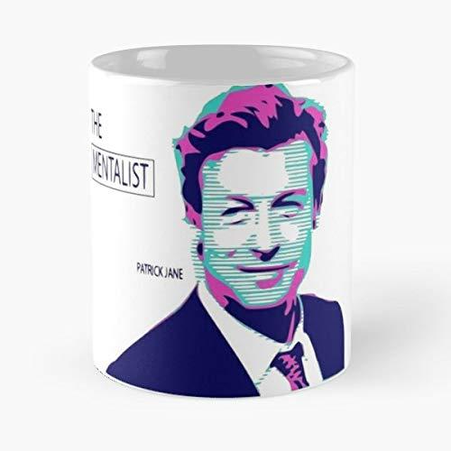 The Mentalist Mentlist Tv Series Patrick Jane Teresa Lisbon Red - Best 11 oz Kaffee-Becher - Tasse Kaffee Motive