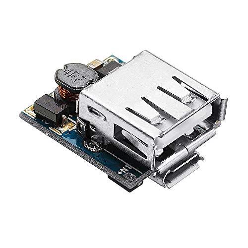 Duradero 5V de litio cargador de batería Paso Junta de Protección Hasta Boost módulo de alimentación Micro USB Li-Po Li-ion 18650 del cargador del banco de potencia Junta de bricolaje 10pcs Fácil de m