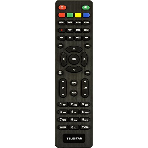 Telestar Fernbedienung für digiHD TS3, TS4, TS5, TS6 und TT5 IR