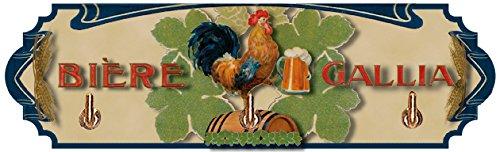 Cartexpo AT821 Alimentation Accroche Torchon Bière Gallia Métal