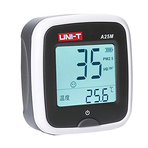 llcc Monitor De Aire Portátil, Detector De Hogar PM2.5, Analizador Digital De Detección De Partículas De Polvo