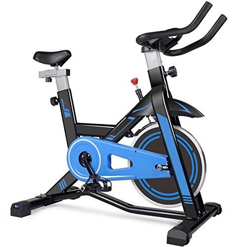 XJWWW-URG Ciclismo Indoor bicicleta estacionaria, cubierta de bicicleta de ejercicios, ciclo de la bici con un cómodo cojín del asiento, for el hogar Cardio entrenamiento, asiento ajustable y el manil