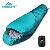 Forceatt Sac de Couchage Momie pour Camping et Extérieur, -10~15℃, Sac de Couchage...