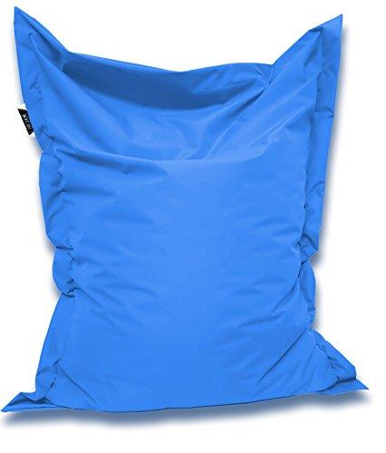 Patchhome Sitzsack und Sitzkissen Eckig - Königsblau - 145x100cm in 25 Farben und 7 versch. Größen