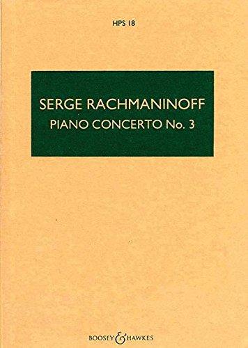 Piano Conc 3 DM Op30 Stsc (Rach)