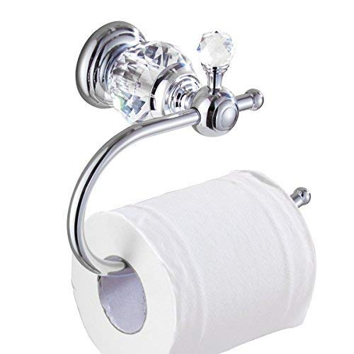 Kabter Crystal Series Brass Toilet Paper Roll Holder