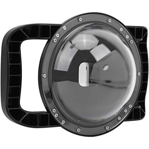 Cúpula subacuática de cámara de 45 m, cubierta de cámara, máscara de buceo, carcasa de cúpula subacuática, cara de bola de 50 mm / 2,0 pulgadas de diámetro, para buceo, surf y otras actividades