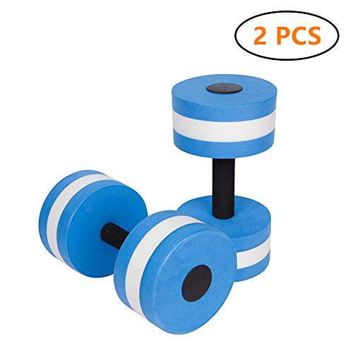 Find Discount igBoss Sports Aquatic Exercise Dumbbells Aqua Fitness Barbells Exercise Hand Bars - Se...