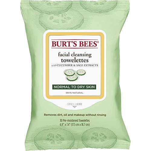 Toallitas húmedas Burt's Bees. Toallitas húmedas para piel sensible, 30 unidades