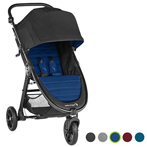 Baby Jogger City MiniGt2, leichter Kinderwagen für Jedes Gelände, Schneller Einhand-Faltmechanismus, Windsor (schwarz/blau)
