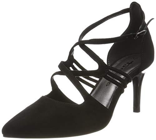 Tamaris Damen 1-1-24440-24 Slipper, Schwarz (Black 001), 37 EU