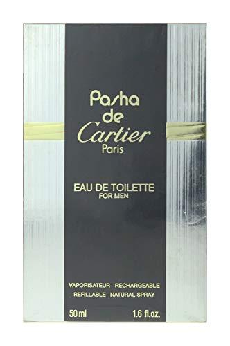 Cartier Pasha De Cartier For Men EDT Spray Refillable 1.6Oz/50ml In Box(Vintage)