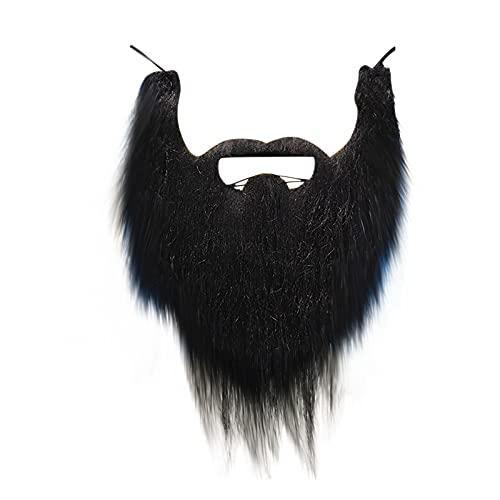 KEXIJIA Bigote falso autoadhesivo, bigotes, bigotes, bigotes, cinta adhesiva falsa para fiesta de Navidad, cumpleaños y decoración