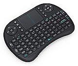 KEYCHAINEX World Mini 2.4Ghz Wireless Bluetooth Touchpad Keyboard with 360 Degree Flip, USB