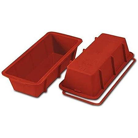 Silikomart 20.326.00.0060 SFT326 Moule Forme Plum-Cake Silicone Terre Cuite