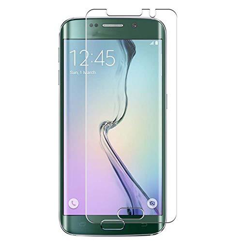 Vaxson 4 Unidades Protector de Pantalla, compatible con Samsung Galaxy S6 Edge softbank au SCV31 docomo SC-04G [No Vidrio Templado] TPU Película Protectora