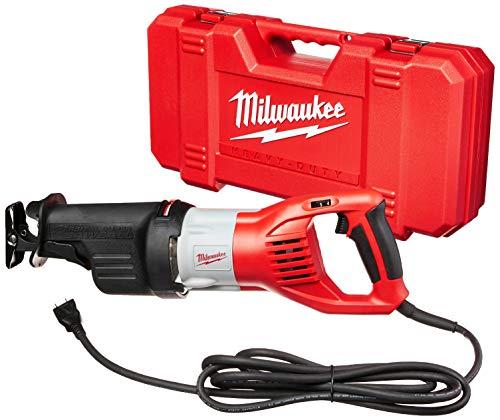 MILWAUKEE'S 6538-21 15.0 Amp Super Sawzall Reciprocating Saw