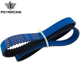 PQYRACING Racing Timing Belt Compatible for Nissan Skyline R32 R33 RB20 RB25DET RB26DETT RB25 Blue HNBR