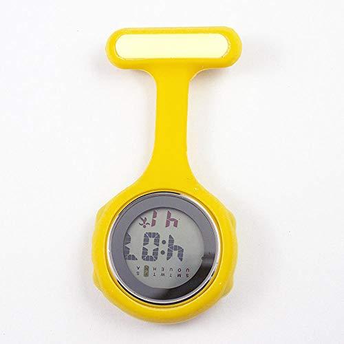 flqwe verpleegkundigen horloge fob, paramedische medische clip fob horloge, multifunctionele siliconen verpleegkundige horloge, wekker elektronische horloge, paramedische dokter Pocket horloge