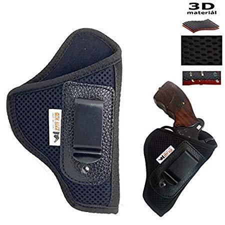 Gizmoway Revolver Holster EVA styrofoam IOF.32 Revolver Concealment Carry Inner Clip Pocket Holster (Black)