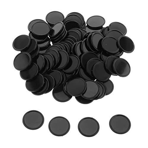 Fichas Bingo Negro Marca Sharplace