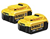 <span class='highlight'><span class='highlight'>Dewalt</span></span> x 2 DCB182 18V 4Ah XR Li-Ion Battery (Pack of 2), 18 V